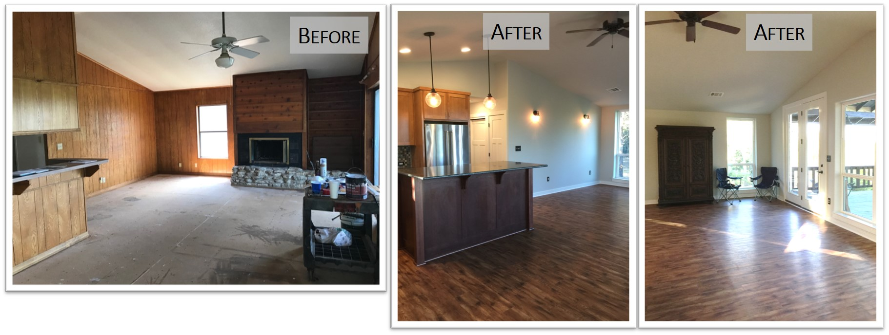 910 PLL, Interior LR, Before and After, Bear Creek Homes.jpg