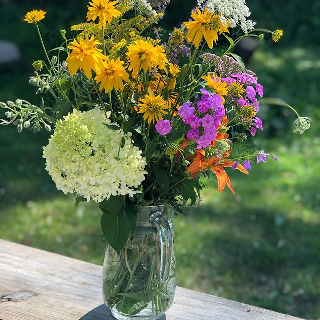 Today's wildflower bouquet 💐