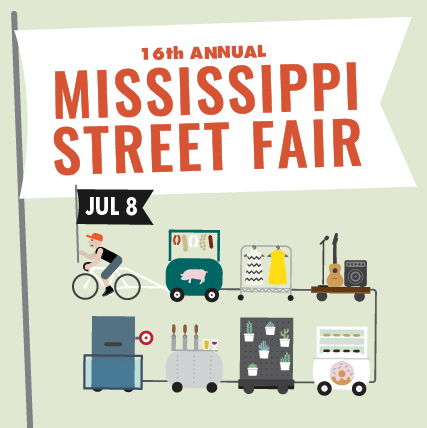 Come find me at the Mississippi Street Fair on July 8 from 10:00 am - 9:00 pm. I'll have new paintings and ceramics ready to take home. Check back for details on where to find me! I'll post the cross street as soon as I hear back!
