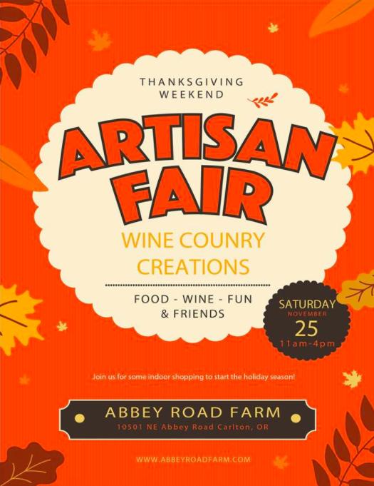 Abbey Road Farm Artisan Festival