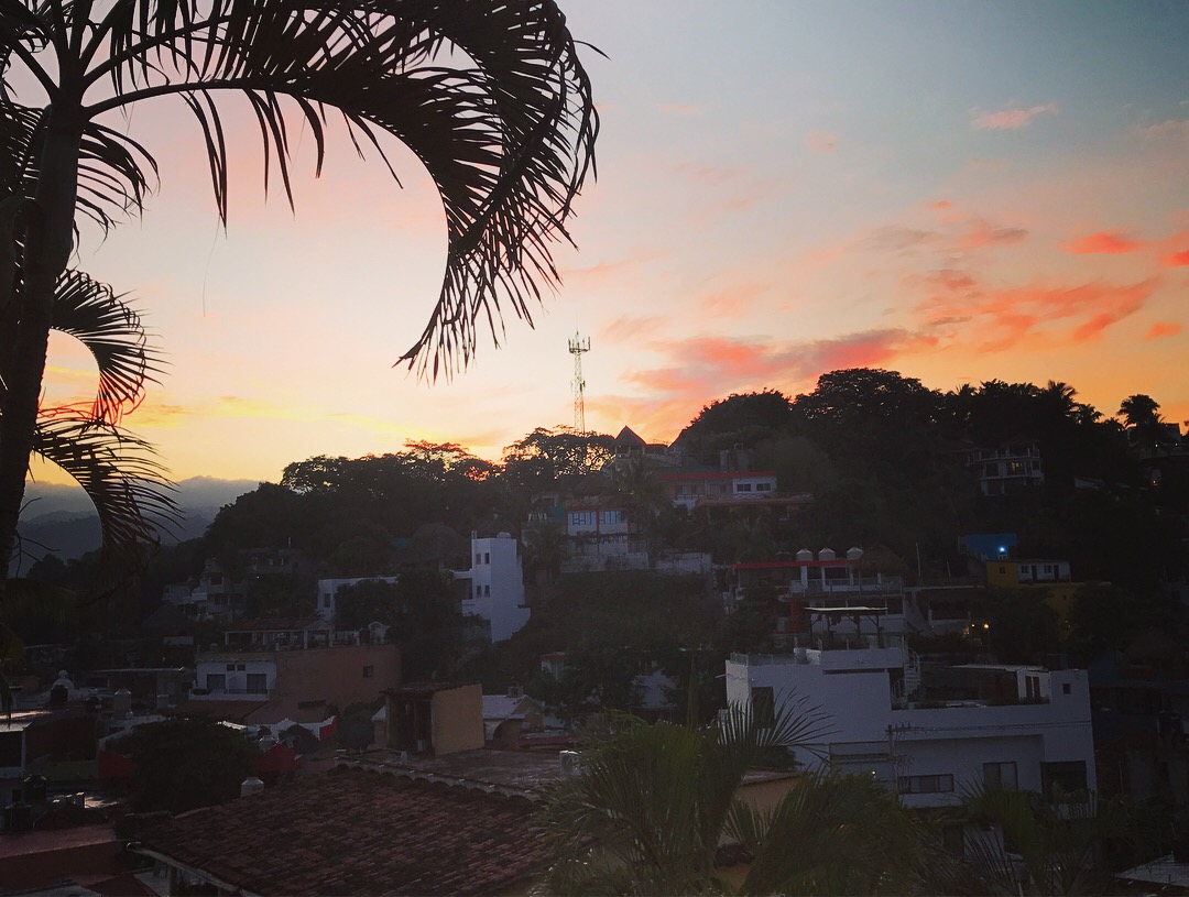 Sunset in Sayulita.JPG