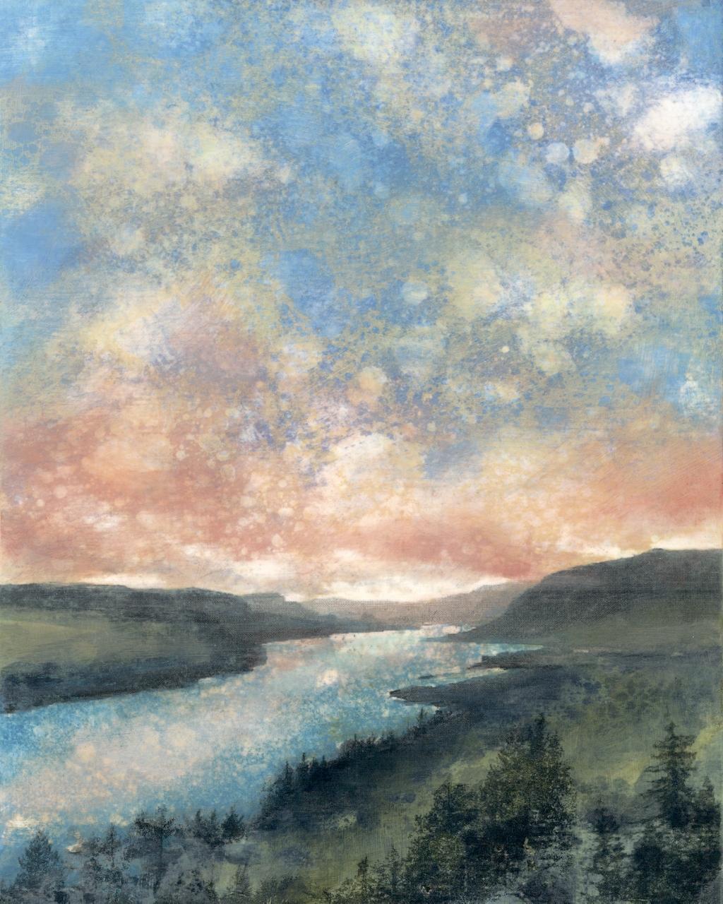 Menucha Memory, Rain Painting Print, Jeni Lee, Columbia River Gorge (1024x1280).jpg