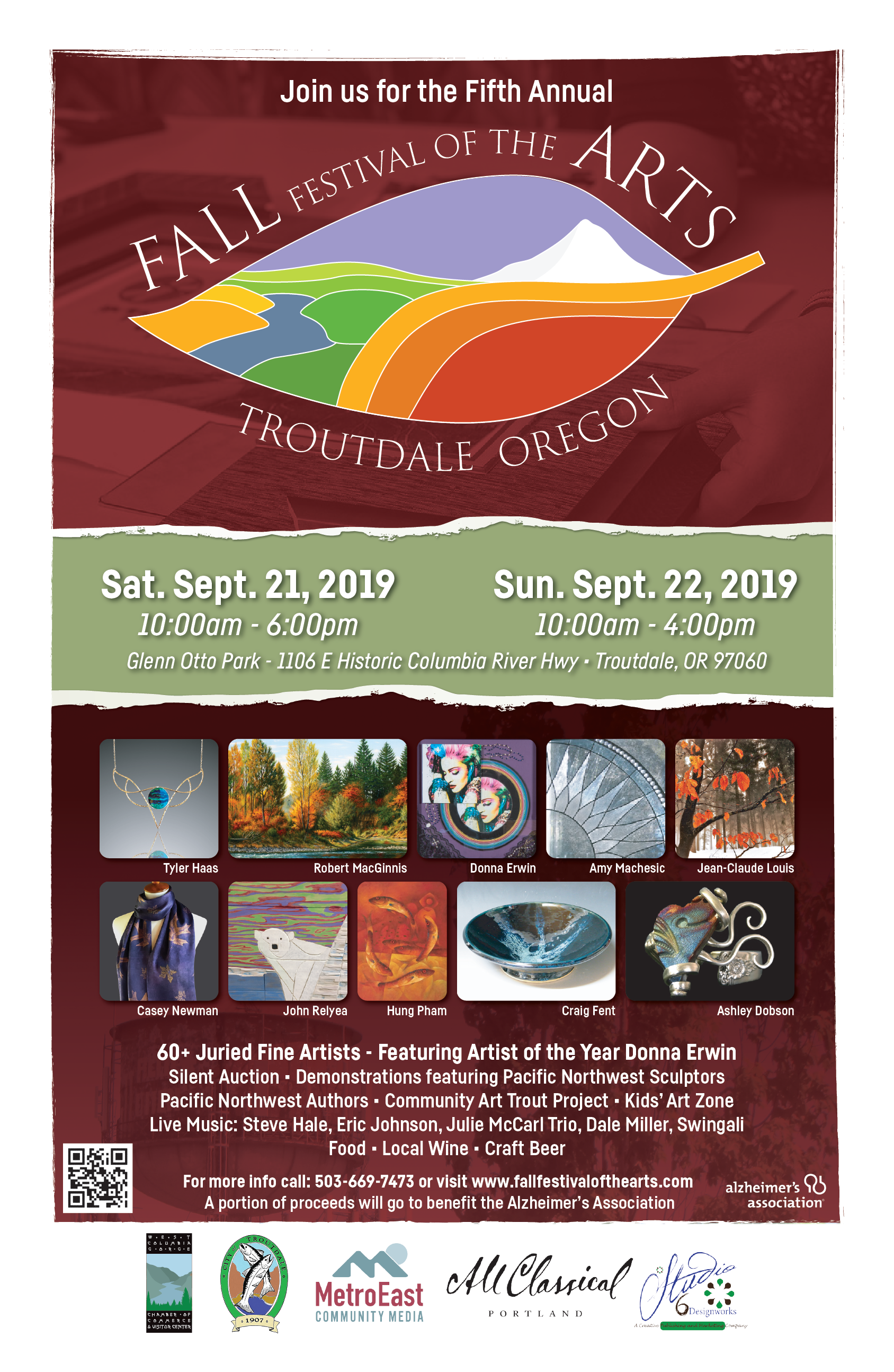 Fall Festival of the Arts Troutdale