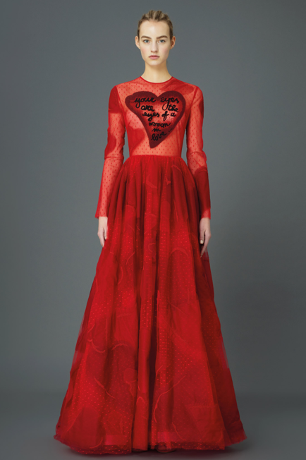 Valentino Pre-Fall '15 Look 17 via Style.com