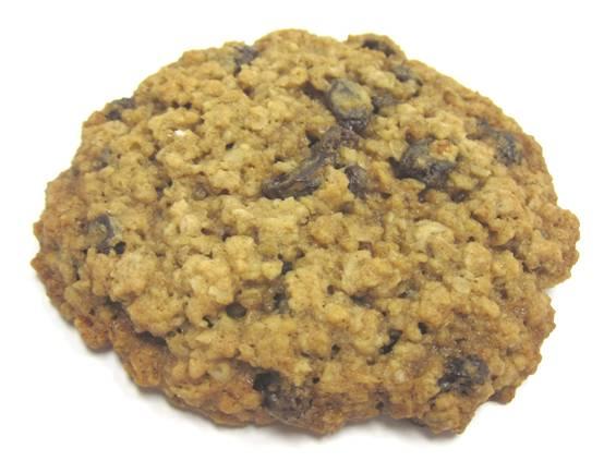 Oatmeal Raisin Cookie (MSRP:$2.00-$2.50)