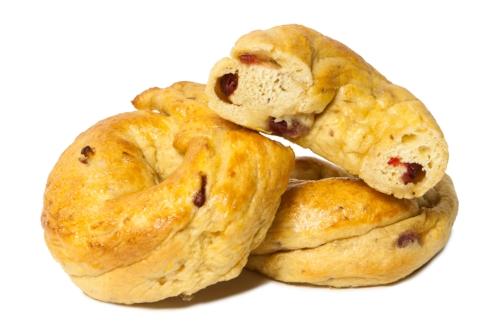 Cranberry bagel