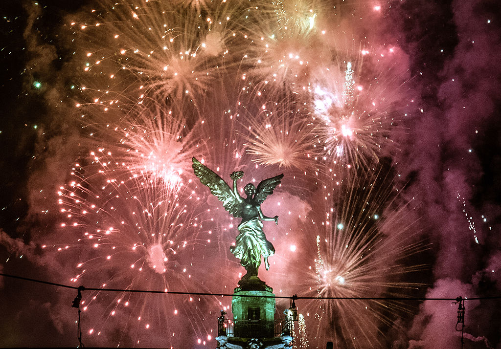 New Year 2013 in Mexico City! By Eneas de Troya.  Available here.