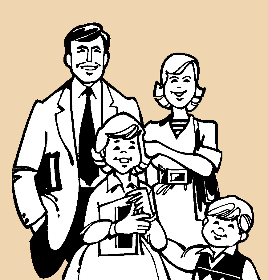 The family, a very important part of domingo in Latin America. Source: Yesenia603, available  here .