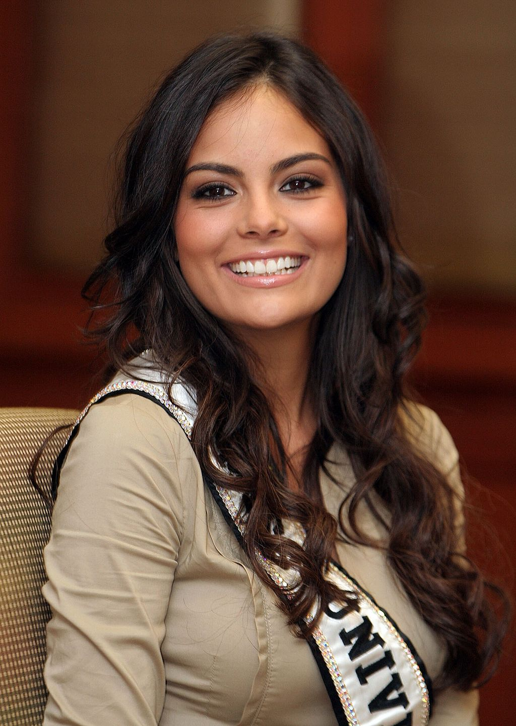 Ximena Navarette, Miss Universe 2010. She is from Guadalajara, Mexico. Source:  Flickr / Abhisit Vejjajiva, available  here .