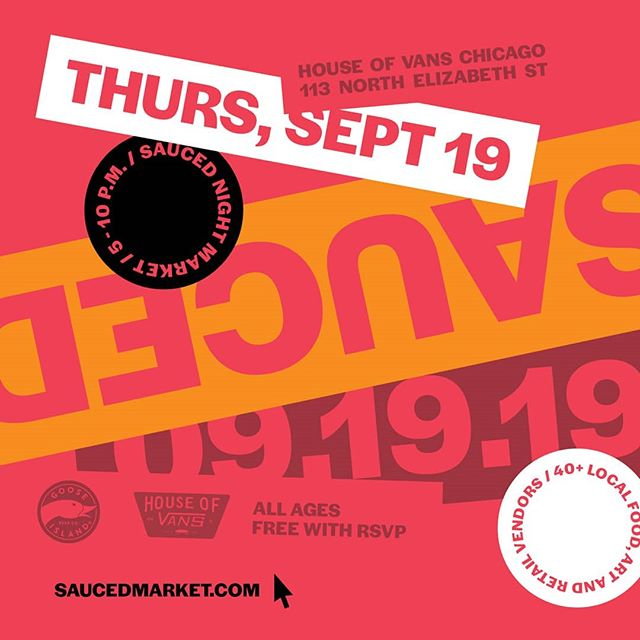 And now, back to out regularly scheduled programming. Sauced at @houseofvans 9/19!