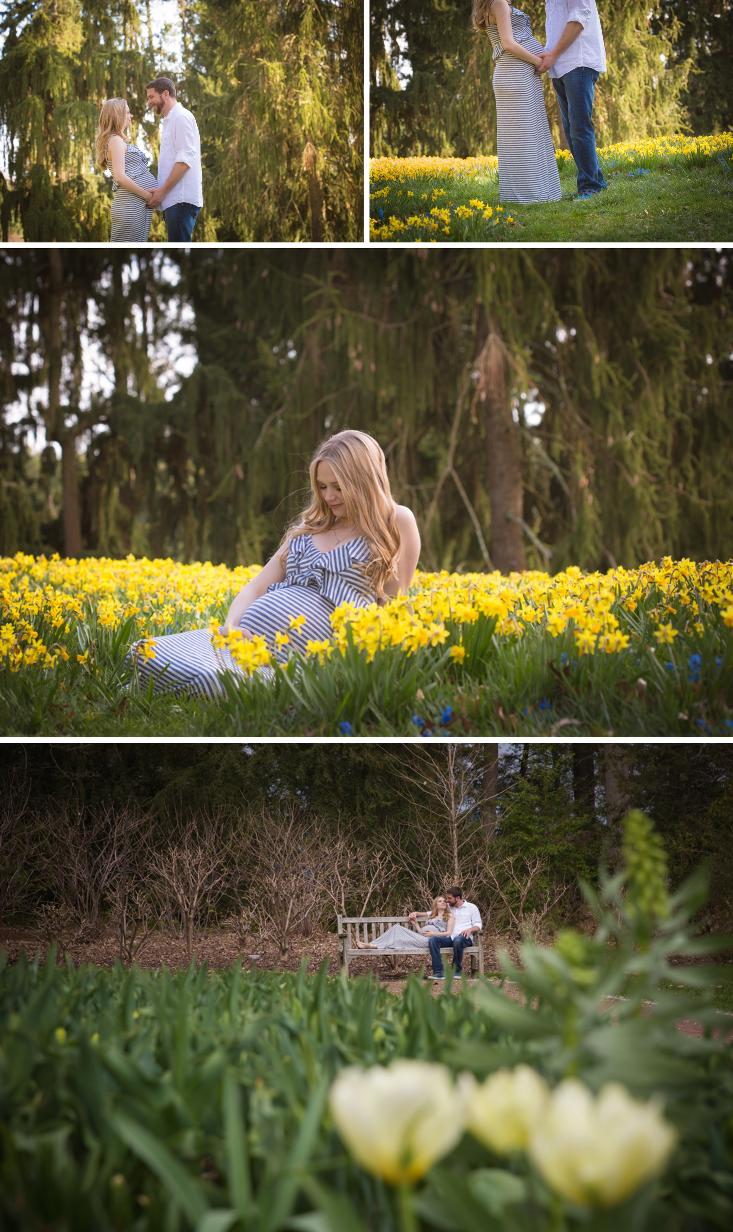 Spring Maternity Portrait