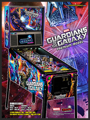 Guardians Of The Galaxy: Pinball