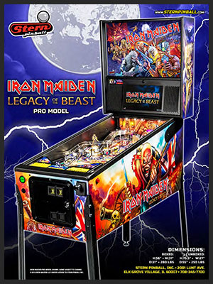 IRON MAIDEN: PINBALL