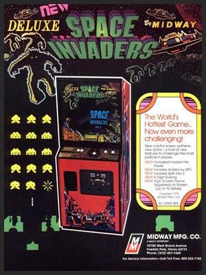 SPACE INVADERS QIX
