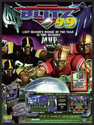 NFL BLITZ 1999