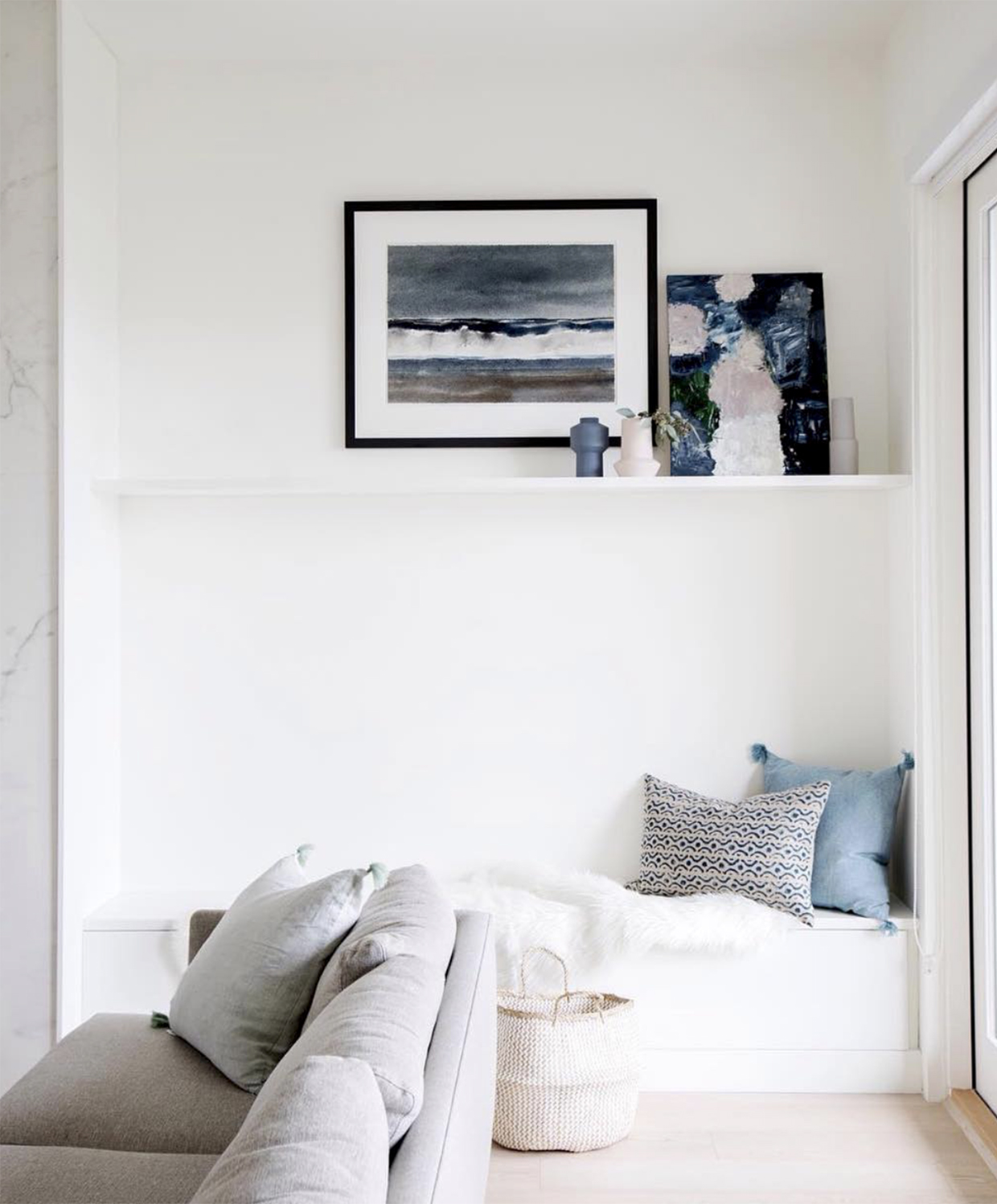 STYLE AT HOME JULY 2018 | ABSTRACT ART JULIE BRETON | PHOTO JANIS NICOLAY