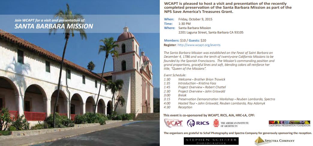 WCAPT Event Invitation
