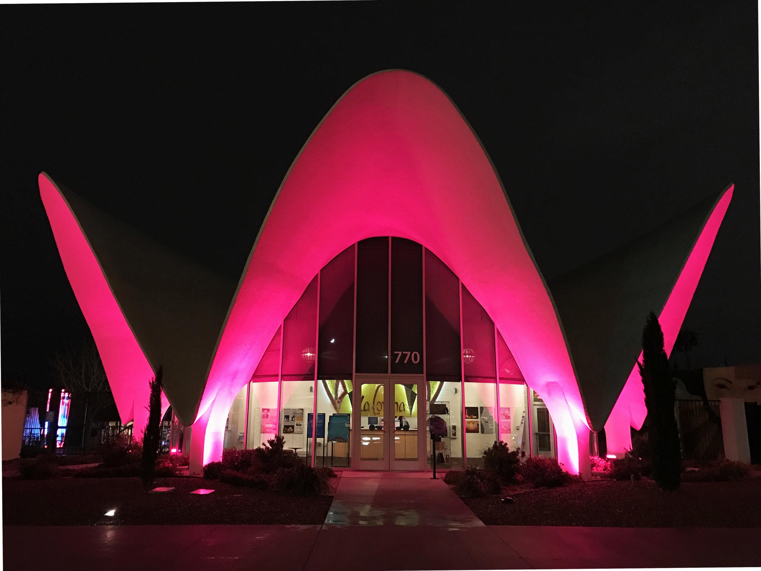 Neon Museum, exterior