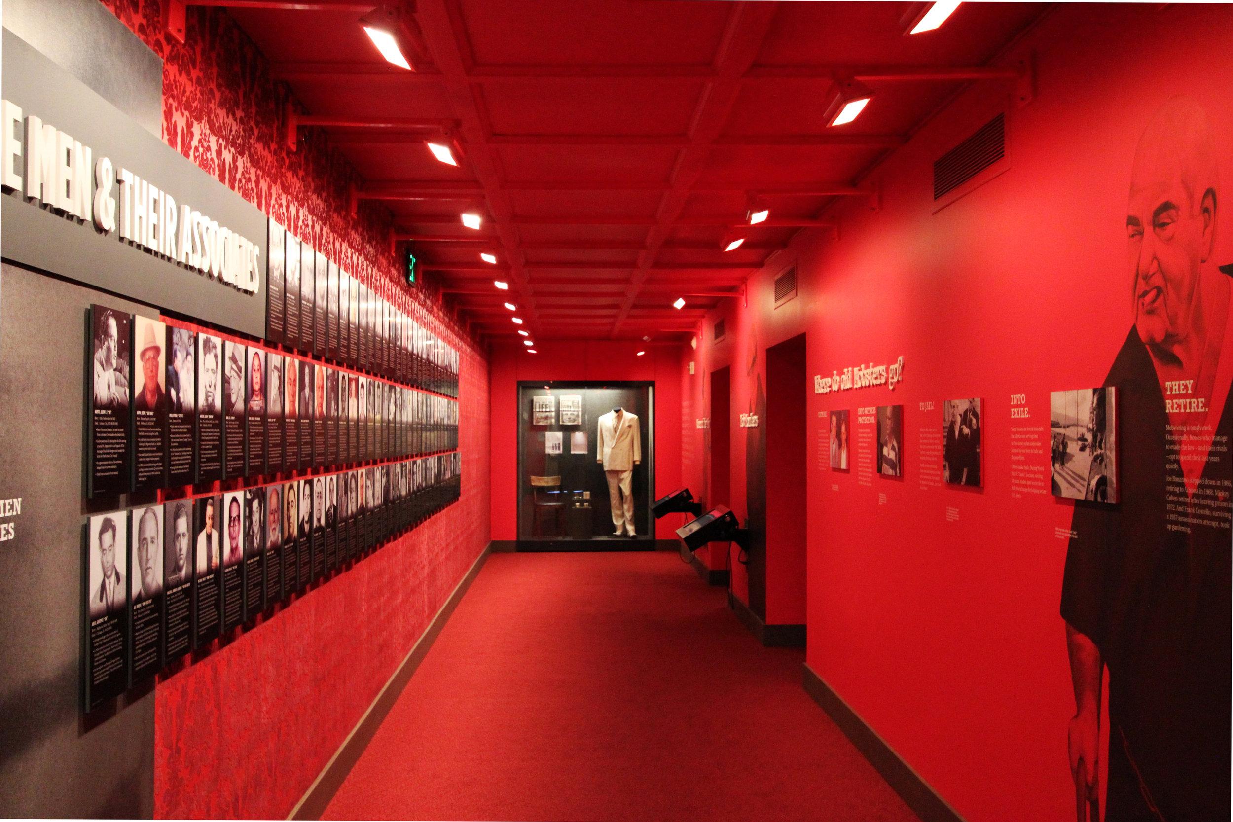 Mob Museum, interior