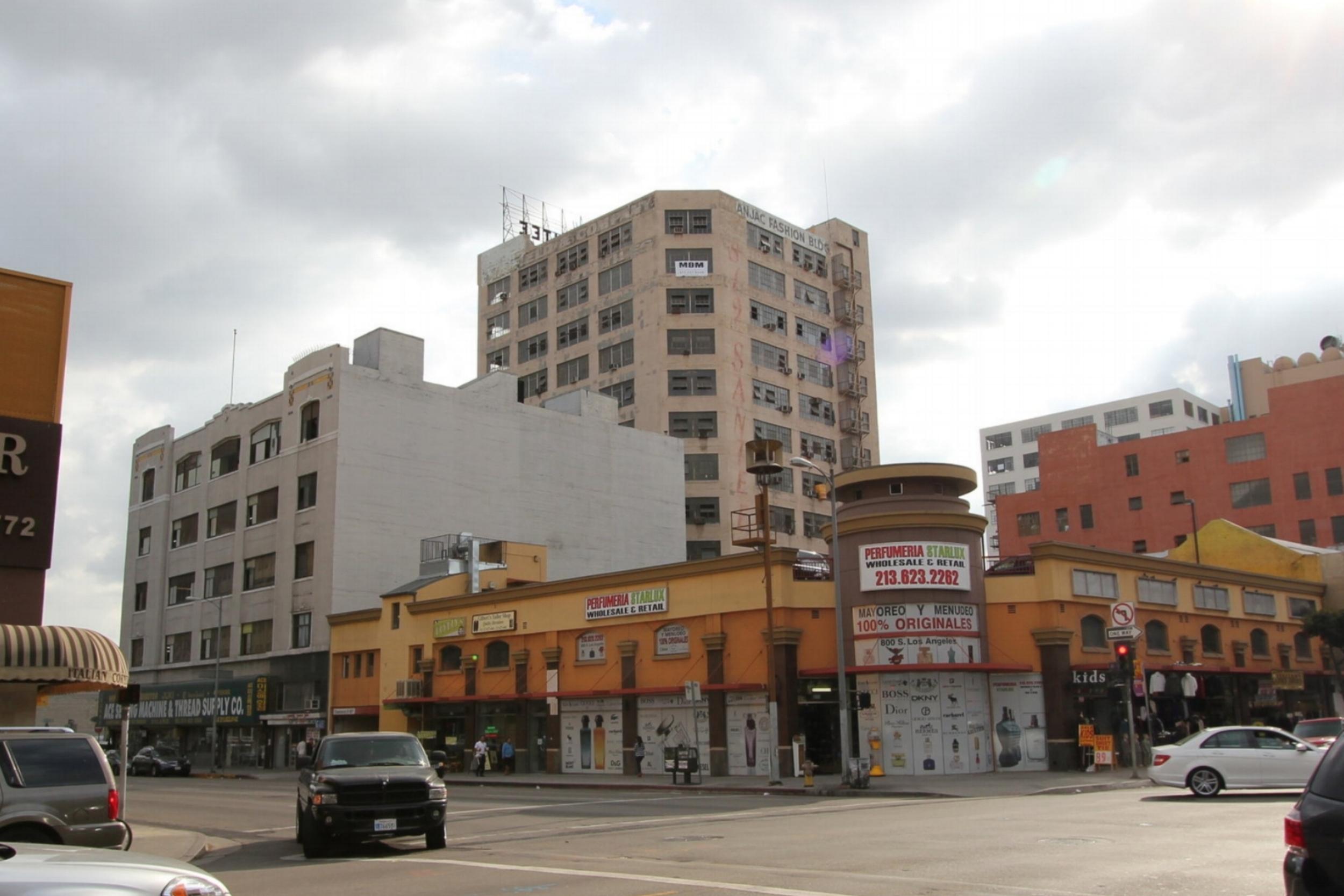 Maxfield Building, before rehabilitation.