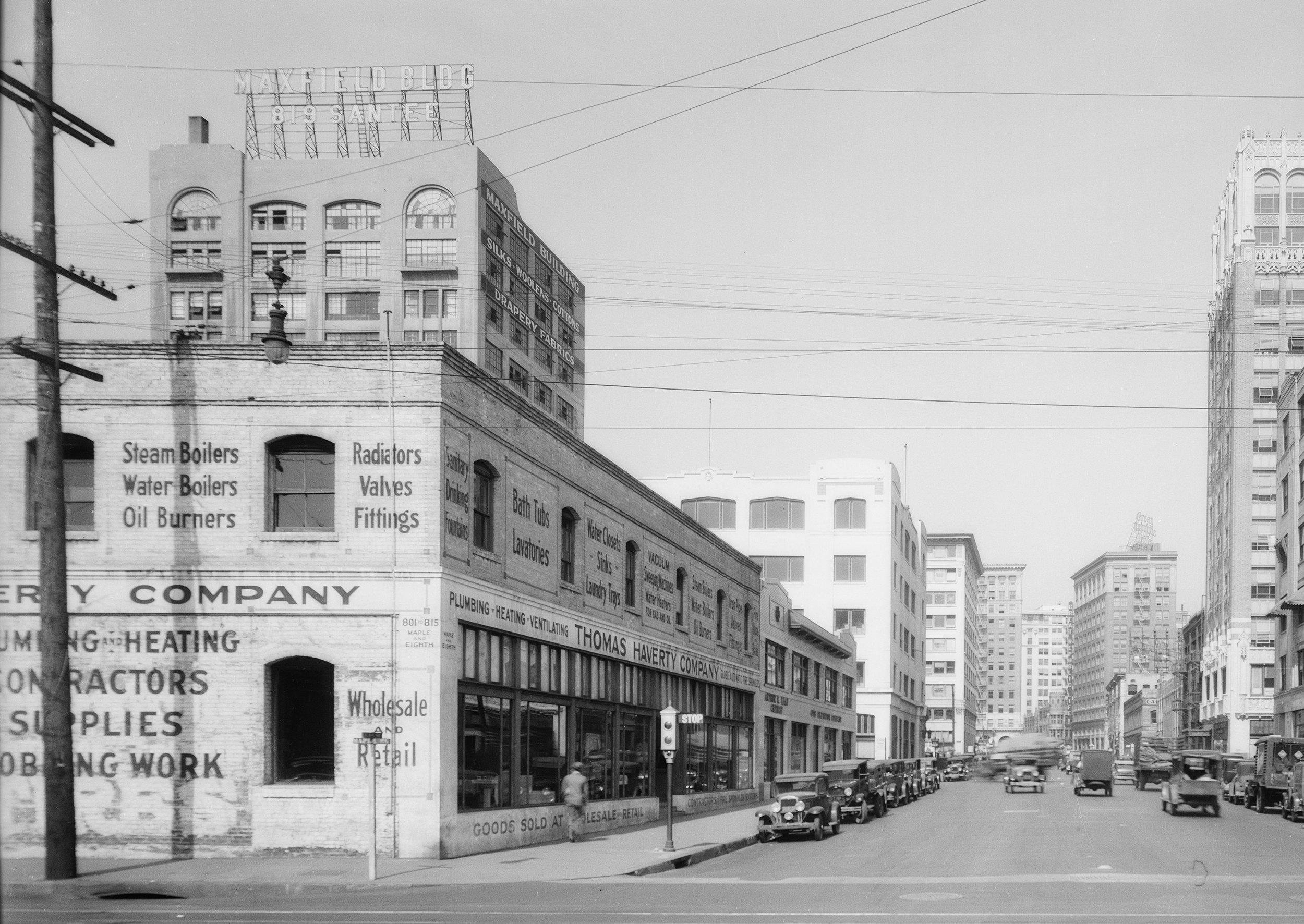 Maxfield Building, historic photograph.
