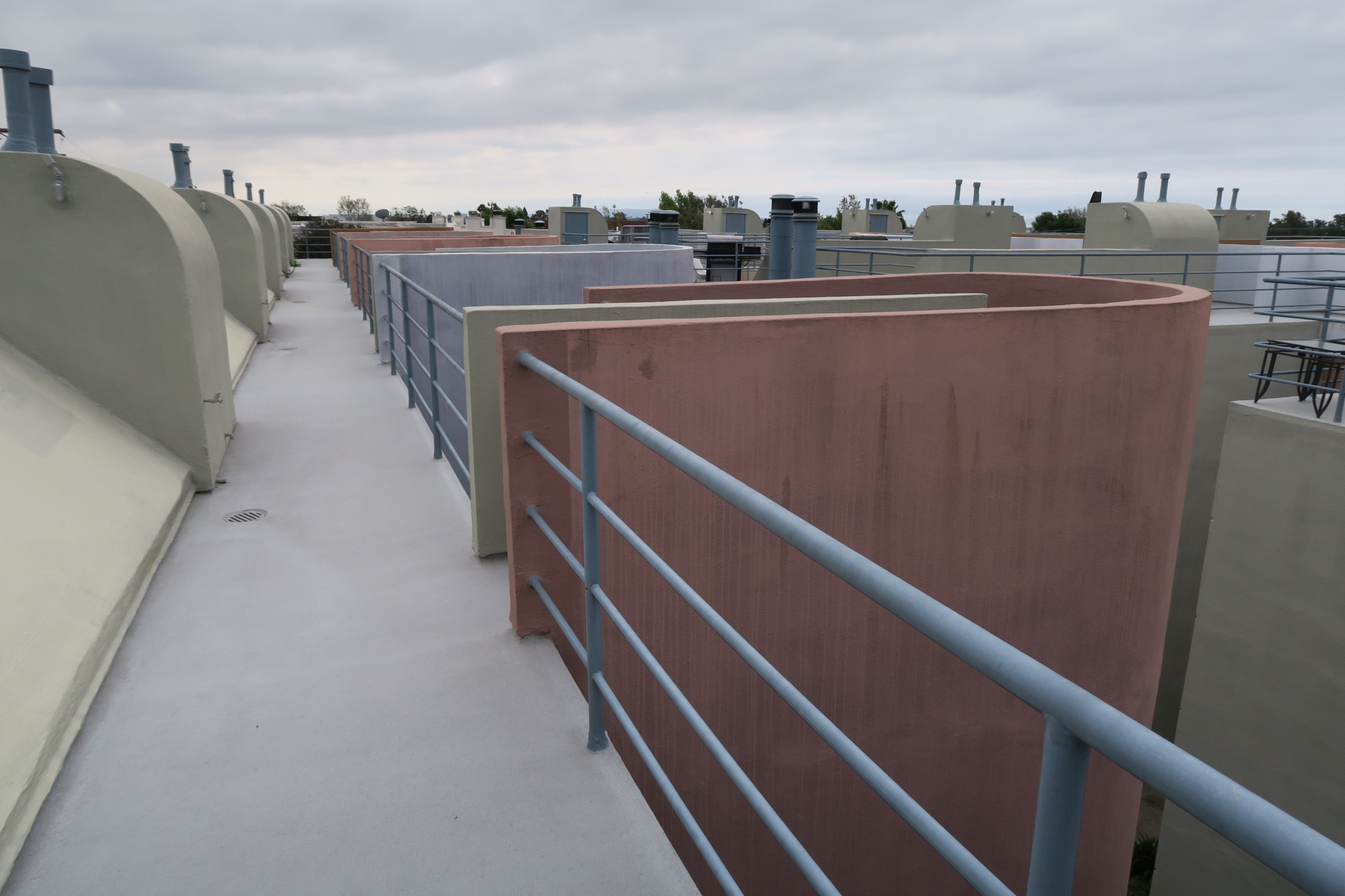 Maintain waterproof roof decks