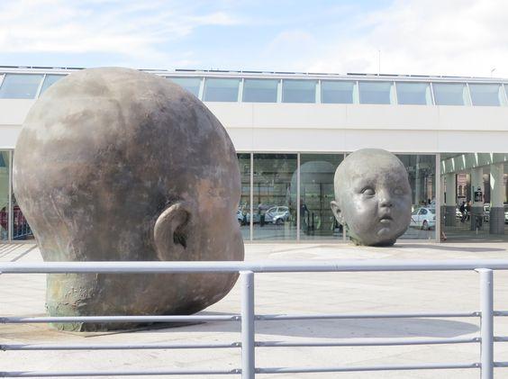 Atocha, 2008, Bronze Installation