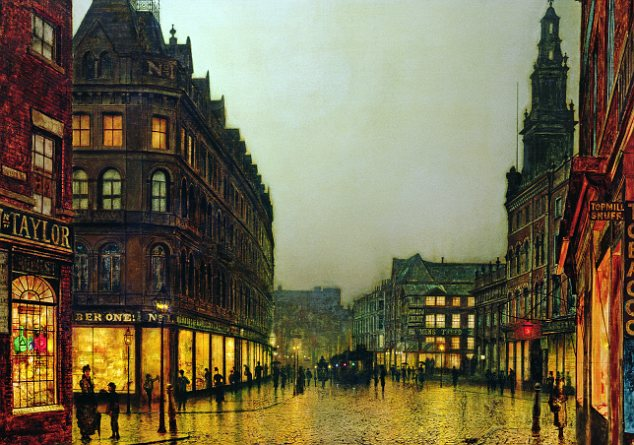 Boar Lane, Leeds  1881