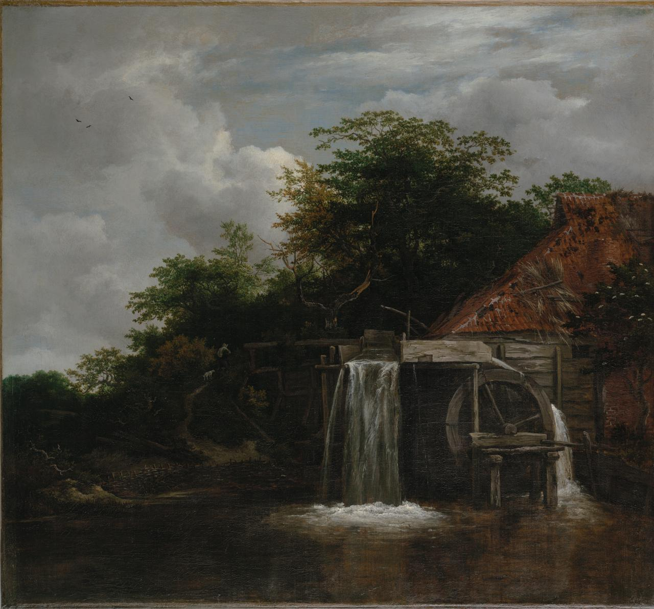 The Watermill (ca. 1660)            Oil On Canvas                    NGV Melbourne