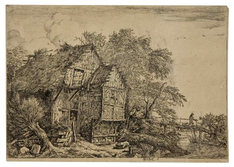 The Little Bridge(ca 1652)