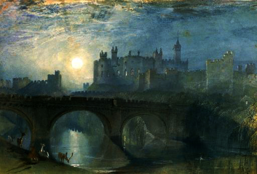 Alnwick Castle, Northumberland              Watercolour           JMW Turner
