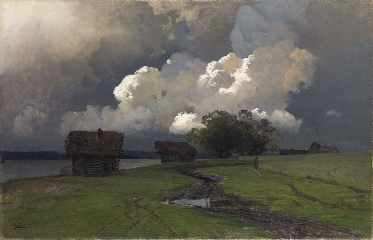 Levitan - In The Vicinity Of Sawino-Storozhevsky