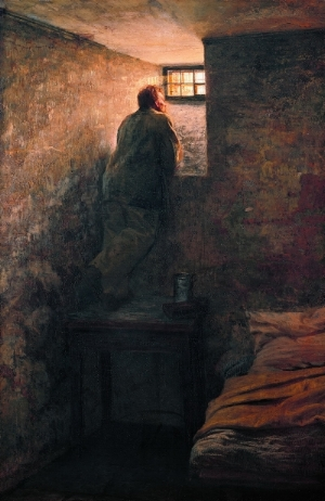 Yaroshenko                     The Prisoner                     1878