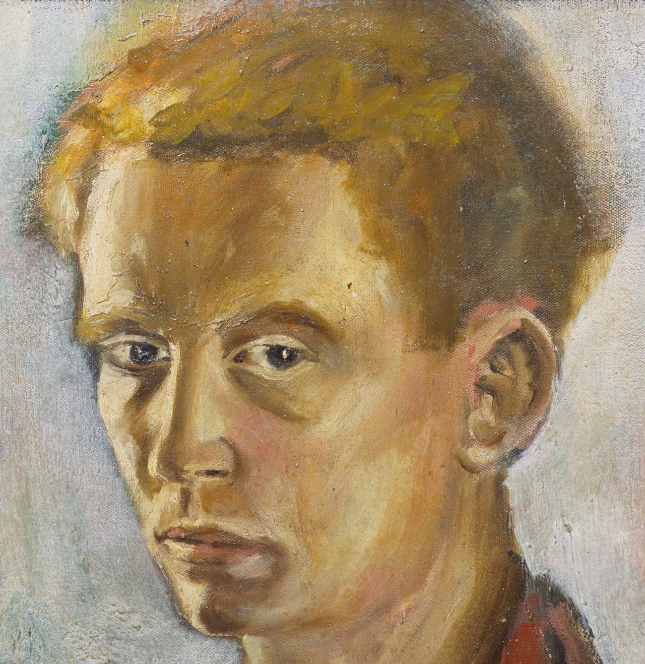 Brett Whiteley, Self Portrait at 16