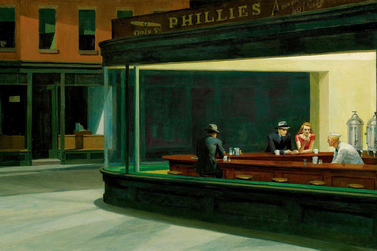 Edward Hopper, The Nighthawks, 1943