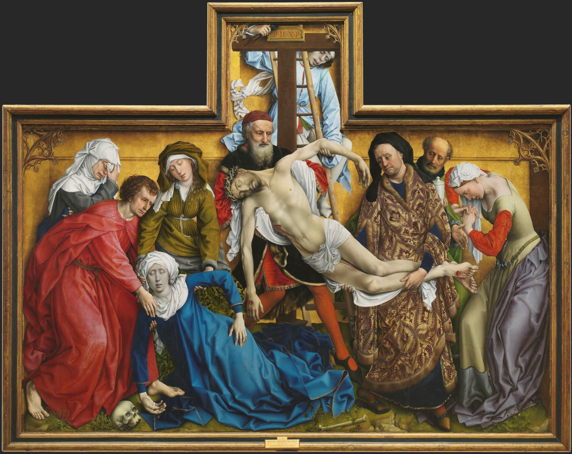 Rogier Van Der Weyden, Descent From The Cross, circa 1438