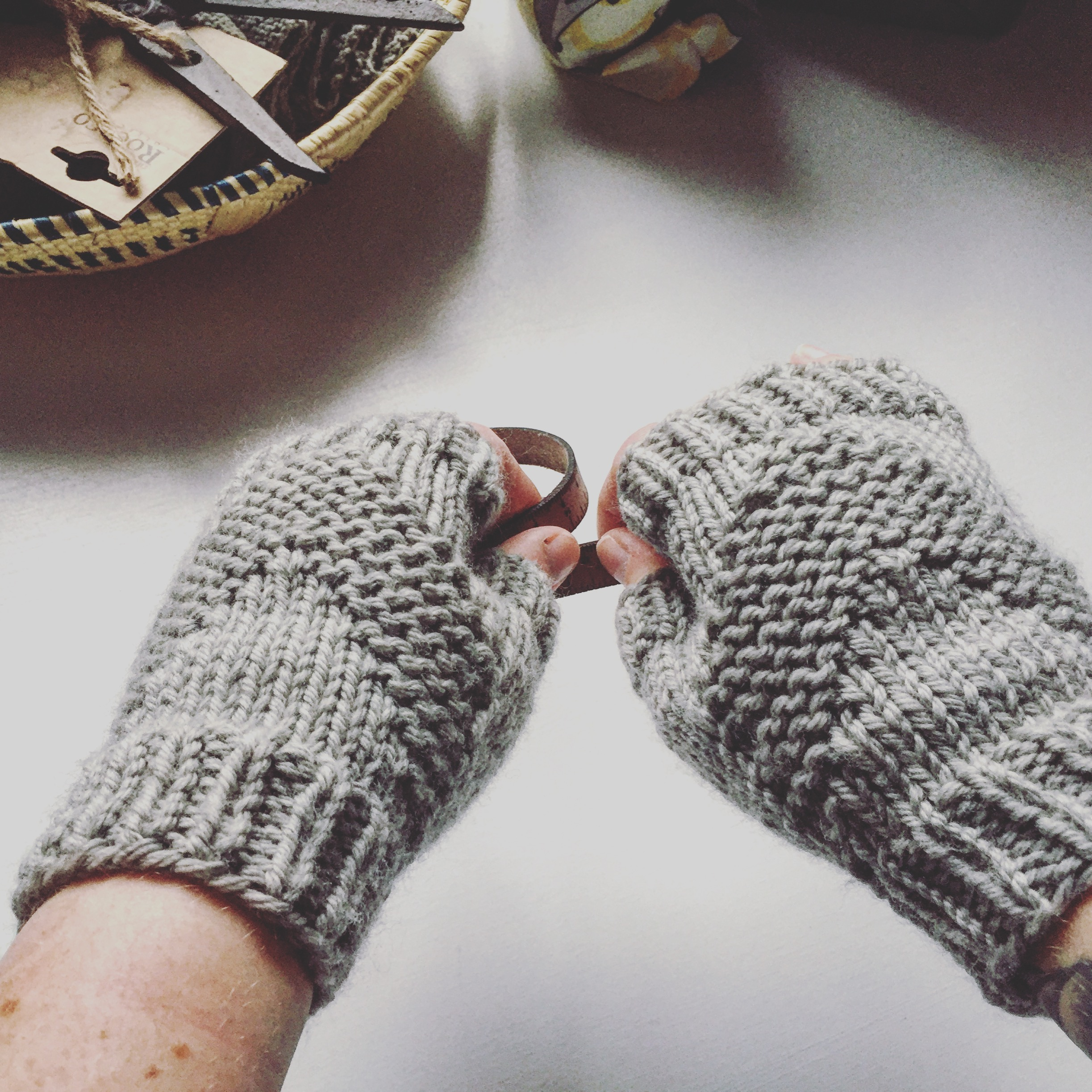 North Country Mitts by Drearenee Knits