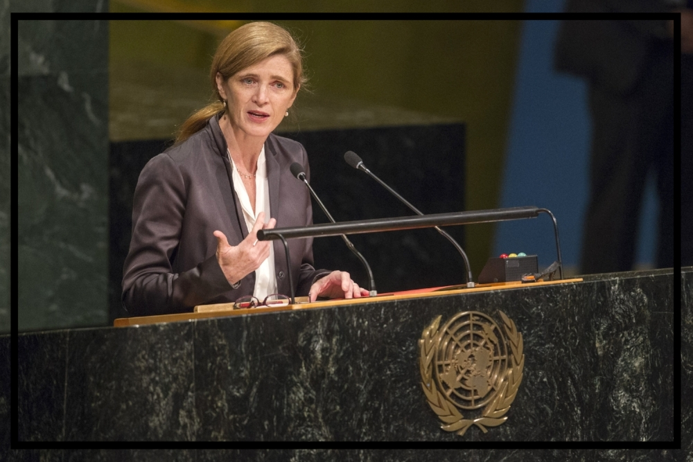 Ambassador Power will share her unique and global perspective on the importance of women's civic engagement at every level.