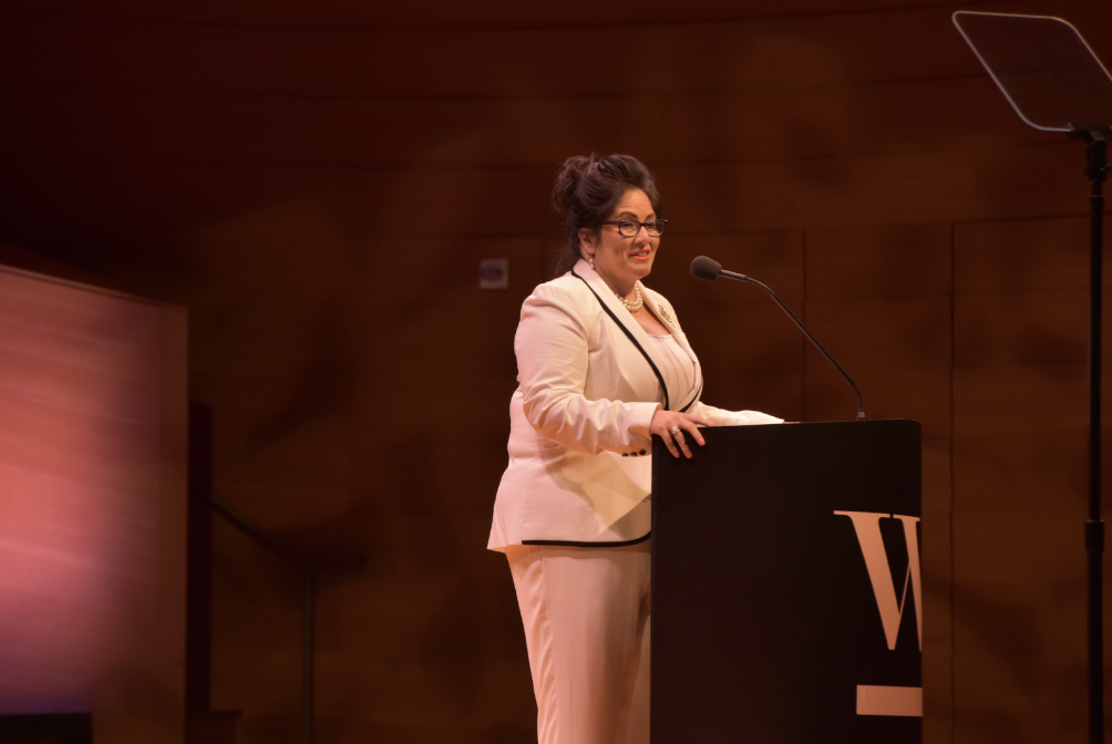 Kansas Department of Labor Secretary Delía Garcia spoke powerfully about her own path to leadership, including Delía becoming the first Latina and the youngest female to serve in the Kansas Legislature in 2004.