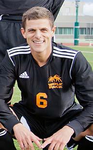 """I find freedom playing soccer"" - Sebastian Gardner"