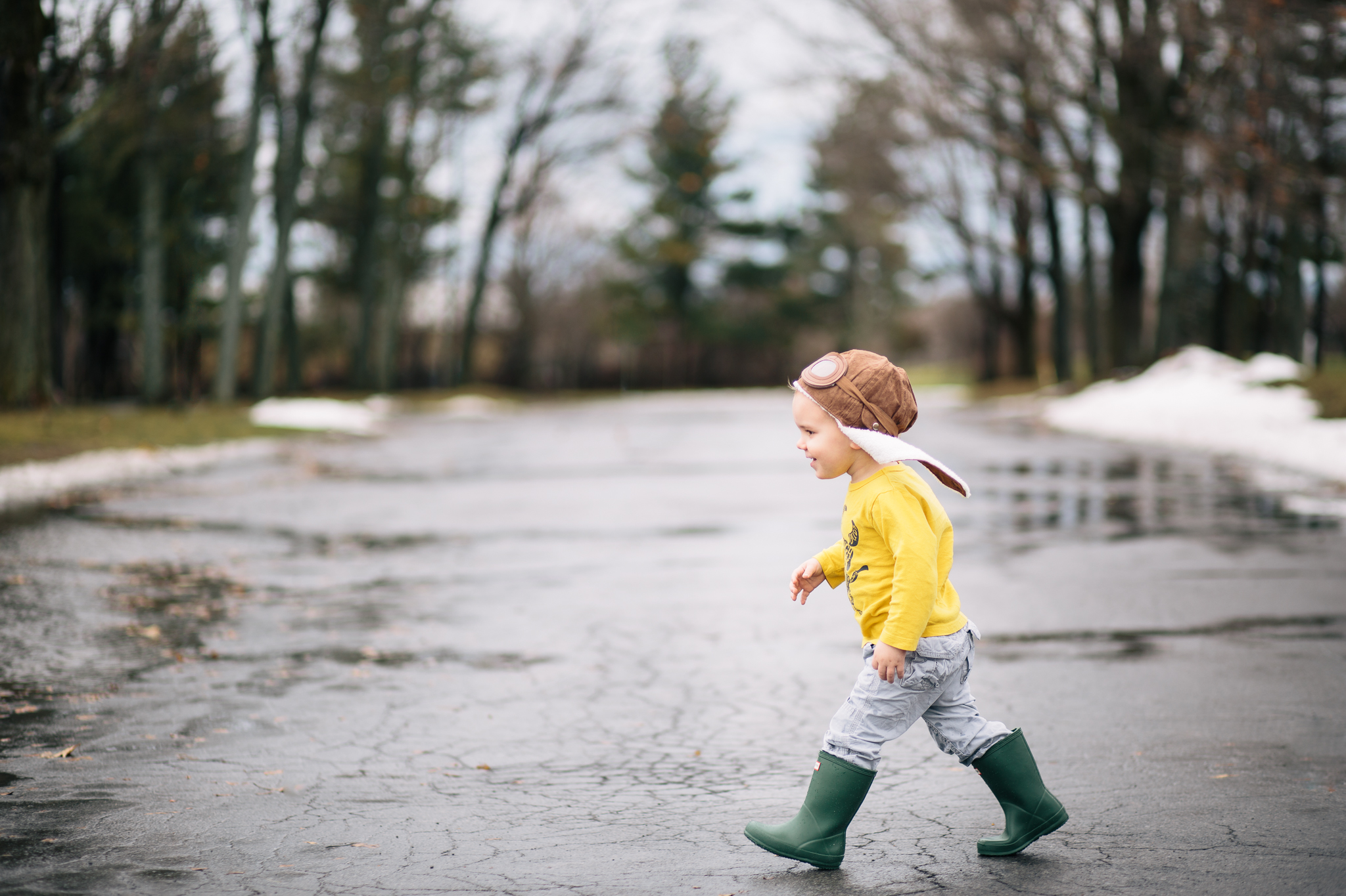 34/366 | Puddle jumpin'.