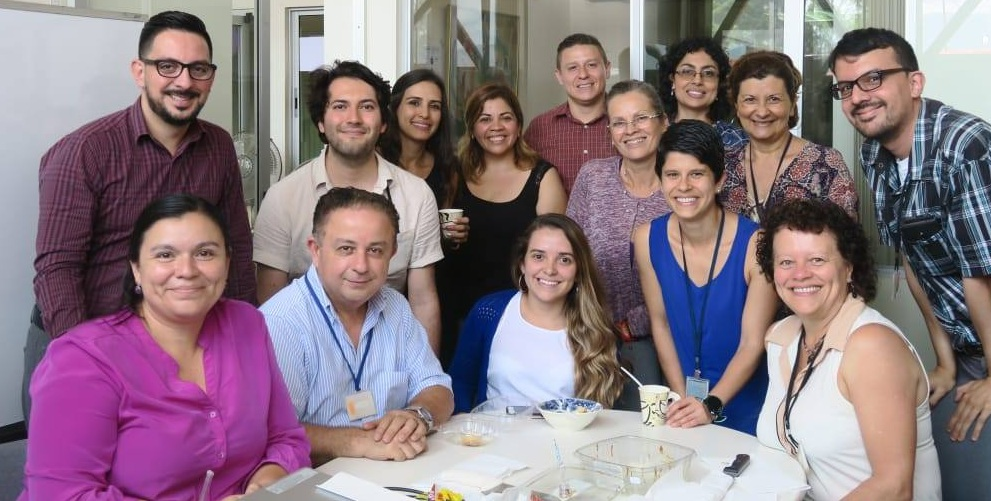 The amazing team I work with at the Omar Dengo Foundation :D.
