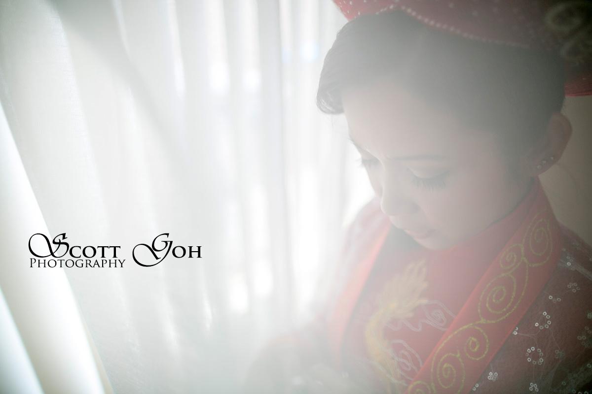 stunning asian bride