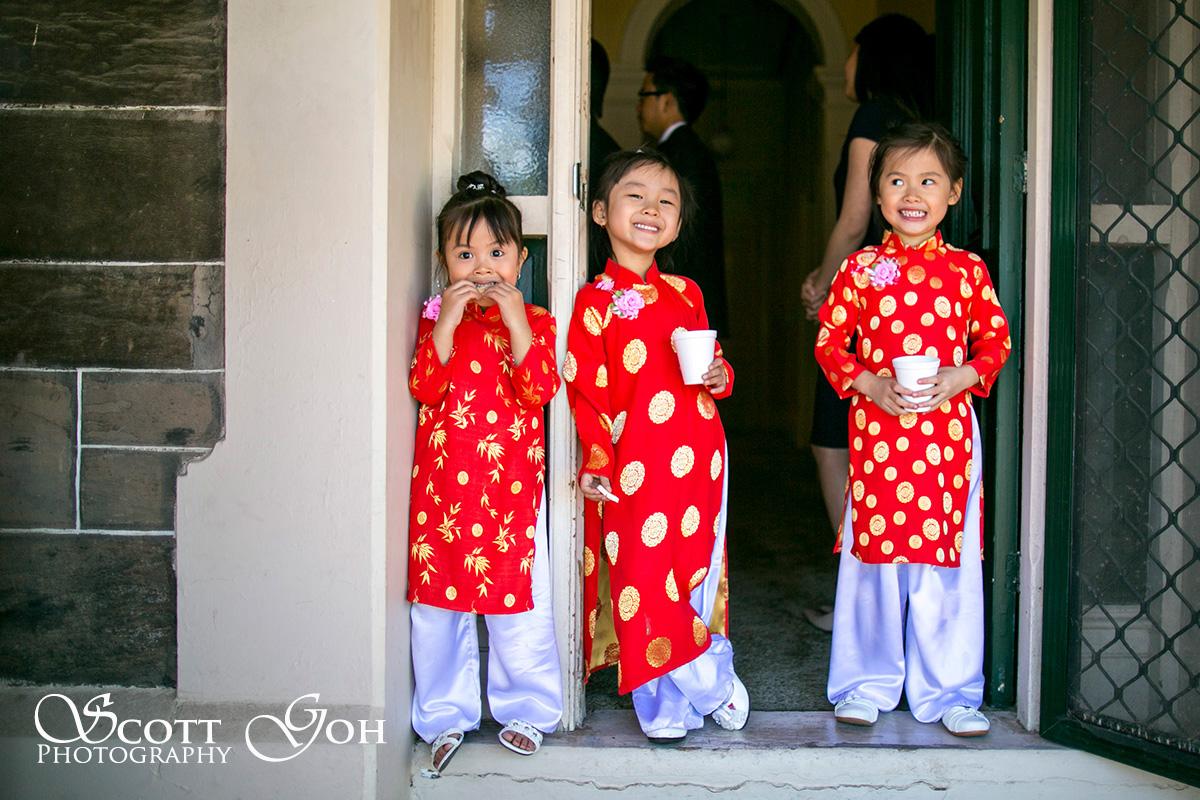 kids Asian in Wedding Photographer