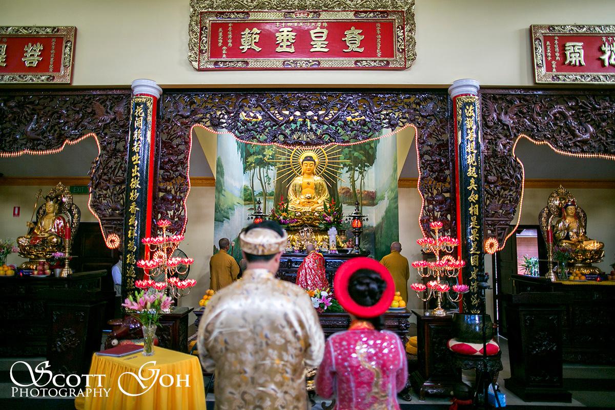 buddhist Asian Wedding Photographer
