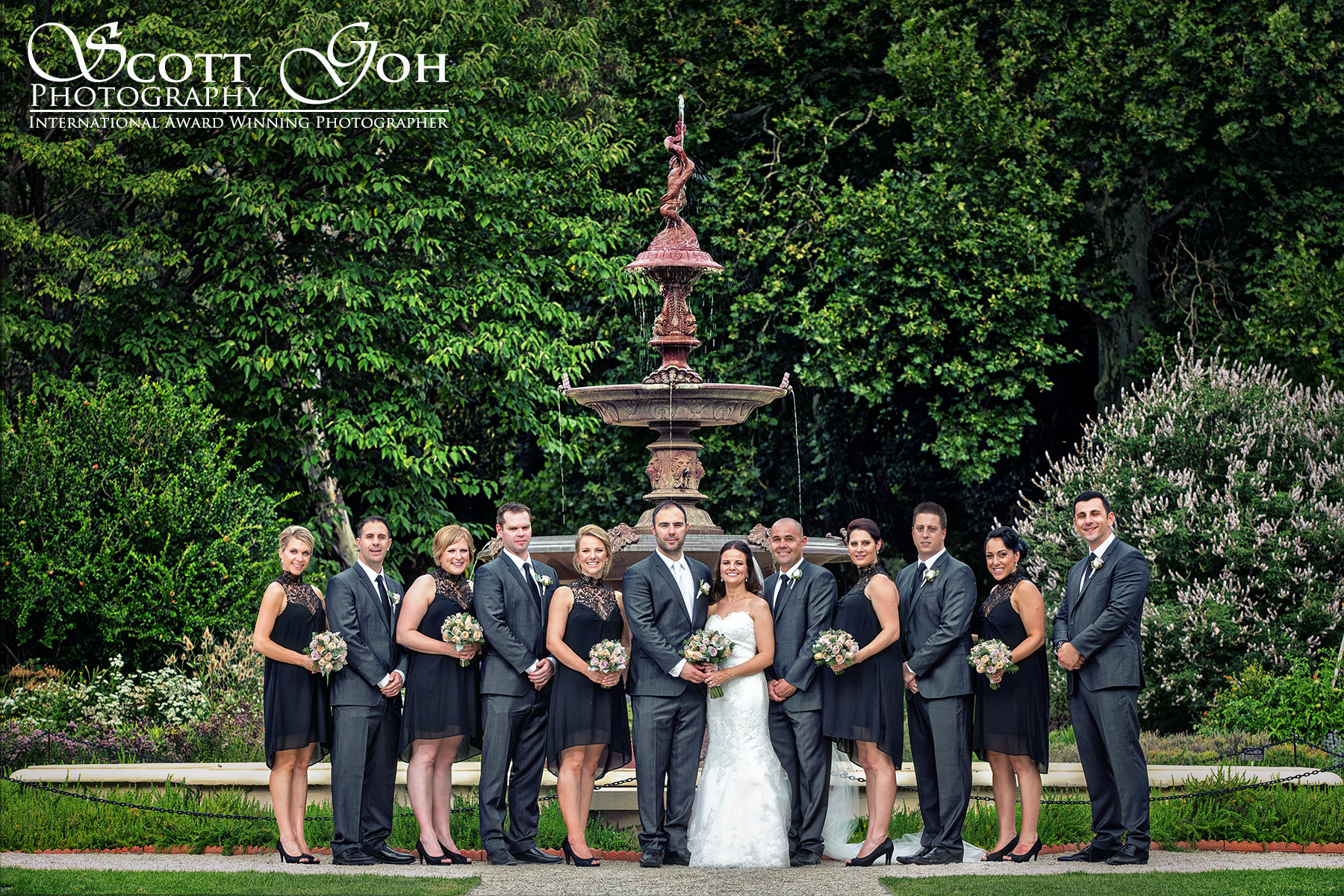 botanical garden wedding