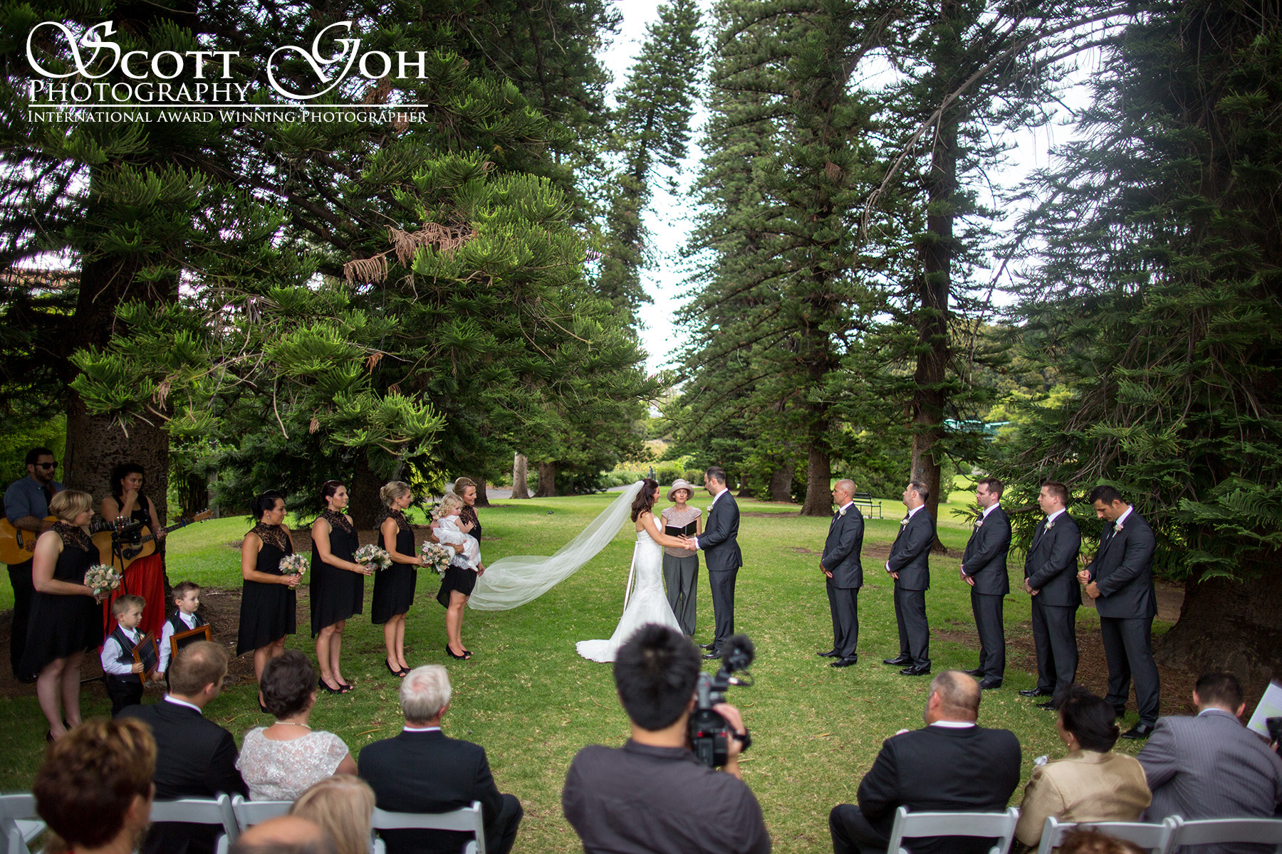 adelaide botanical garden wedding