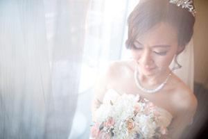 Asian wedding bride photo in South Australia