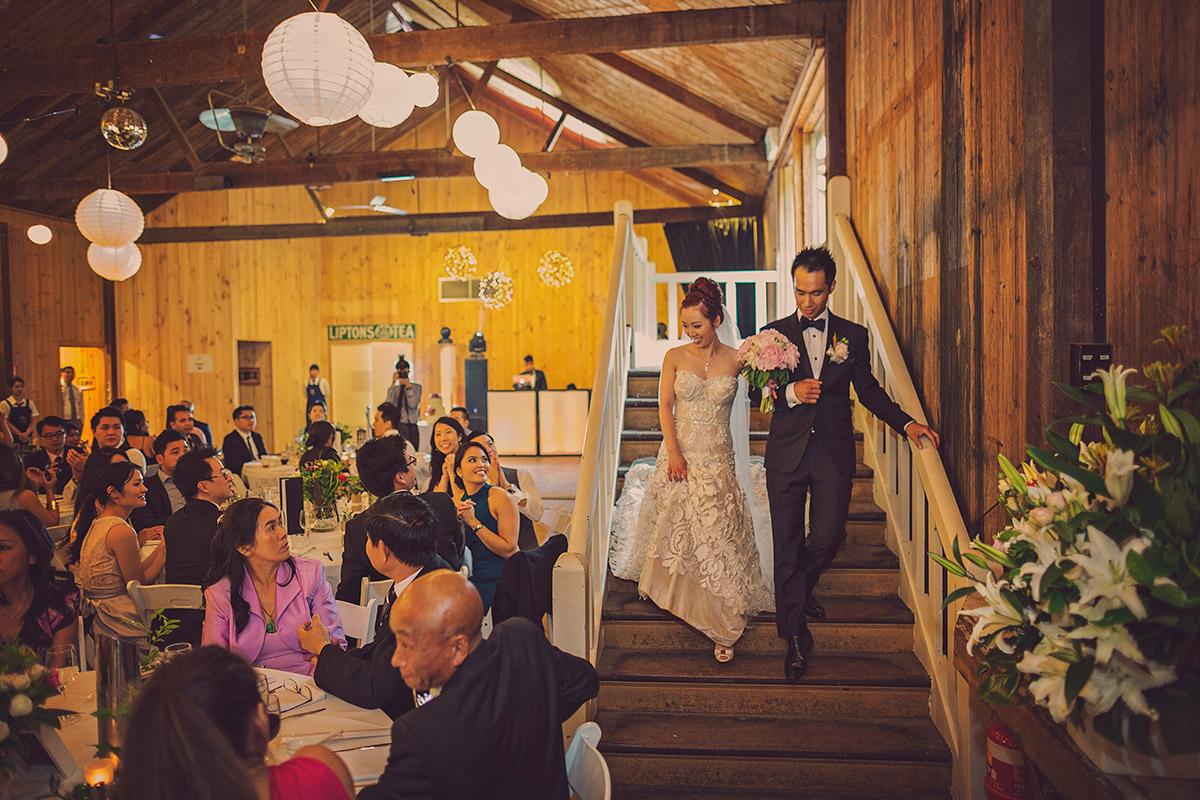 glen ewin estate wedding bride and groom
