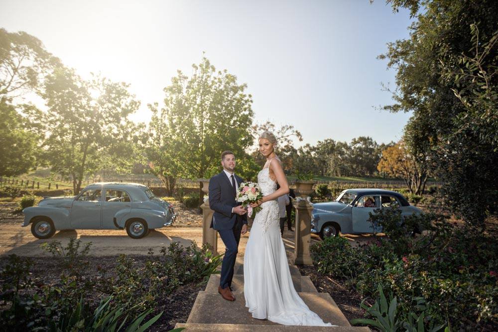barossa chateau wedding photo